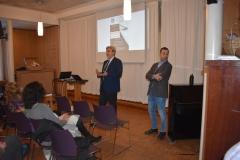 Marco Gargiulo e l'ambasciatore Alberto Colella